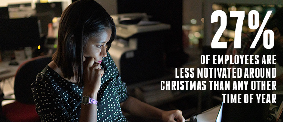 27 PERCENT OF EMPLOYEES ARE LESS MOTIVATED AROUND CHRISTMAS THAN AT ANY OTHER TIME OF YEAR SODEXO SHINE