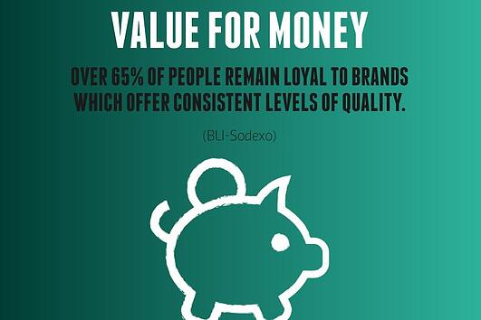 Consumers are loyal to consistency