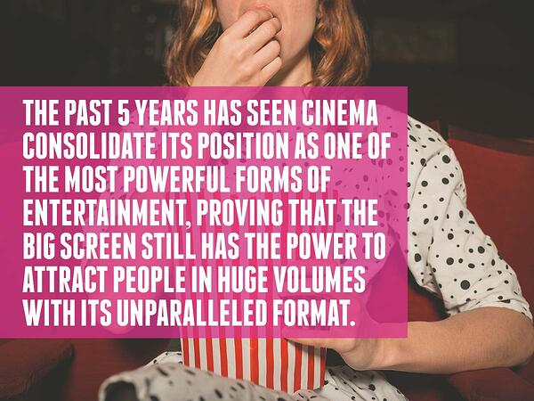 Cinema audiences are strong and stable-1