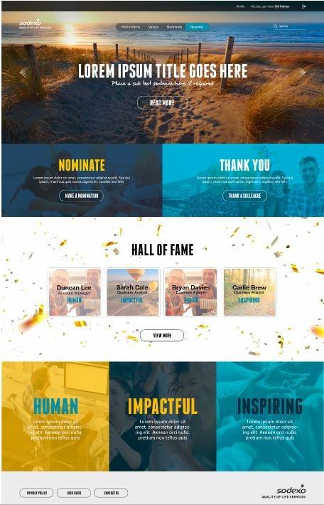 Our Rewards and Incentive Platform